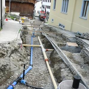 Sanierung Gemeindestrassen und Werkleitungen Salouf